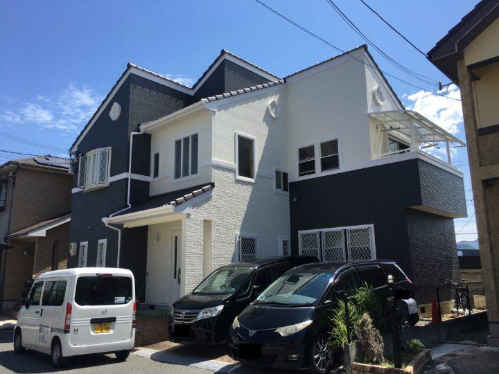 阪南市 I様邸 外壁塗装・屋根塗装 20190825