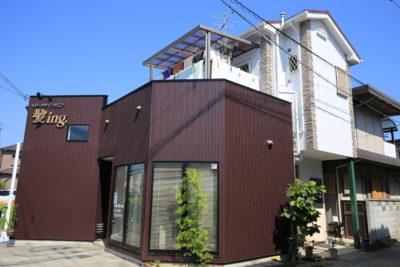 泉佐野市 K美容室 外壁塗装