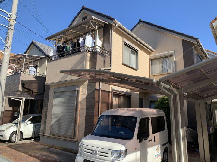 貝塚市 S様邸 外壁塗装 屋根塗装 20190926