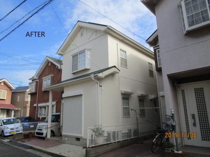 泉南市 M様邸 外壁塗装 屋根塗装 20191010