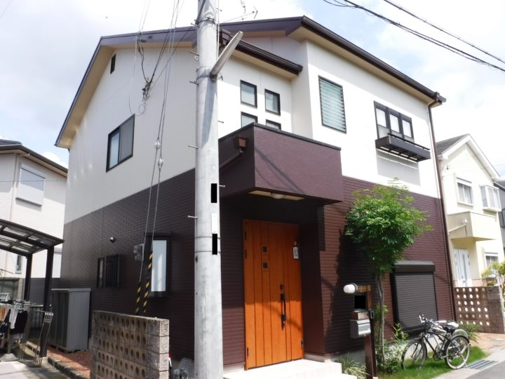 泉佐野市 外壁塗装/屋根塗装工事 完工日:2018/12/9