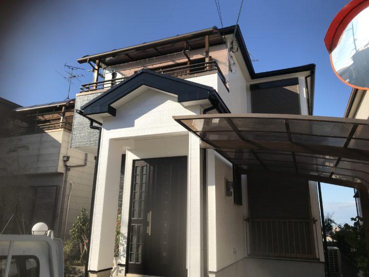 泉南市 K様邸 外壁塗装 屋根塗装 20200113