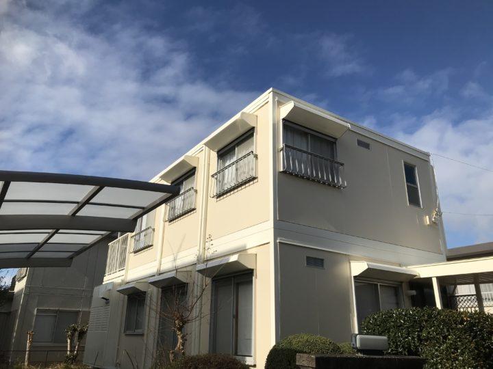 泉南市 A様邸 外壁塗装 屋根塗装 20190110