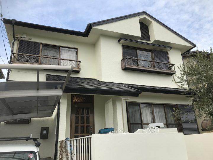 泉佐野市 S様邸 外壁塗装 屋根塗装 20200202