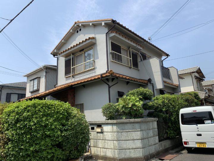 泉佐野市 外壁塗装工事 完工日:2019/4/22