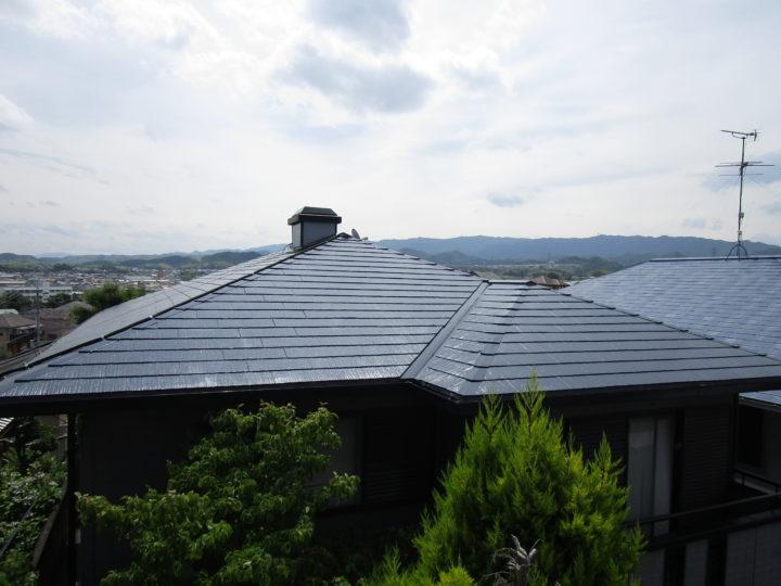 熊取町 屋根塗装/ベランダ防水工事 完工日:2019/6/12