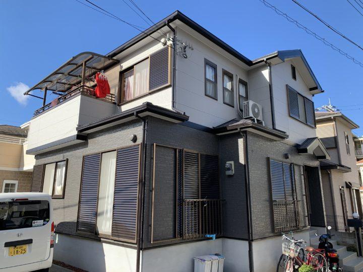 貝塚市 W様邸 外壁塗装 屋根塗装 20191225