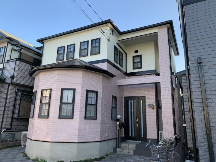 貝塚市 K様邸 外壁塗装 屋根塗装 ベランダ防水 20191228