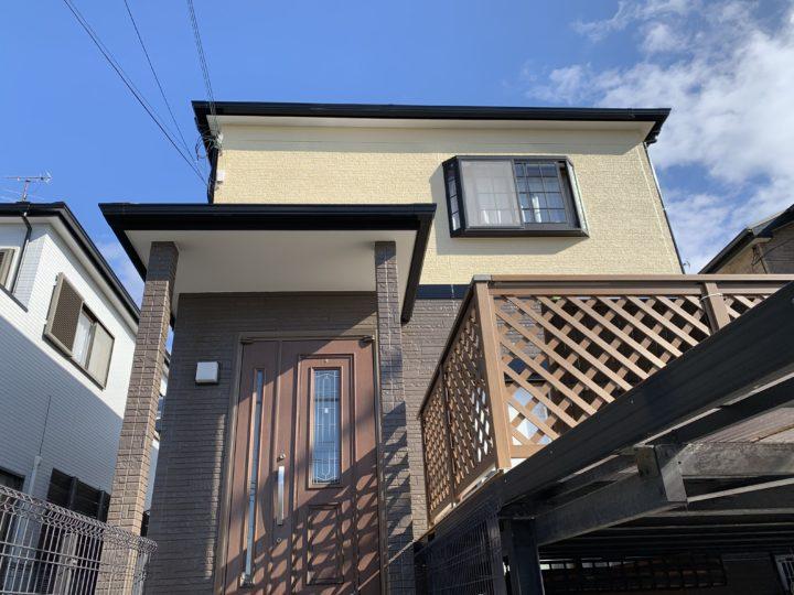 泉佐野市 K様邸 外壁塗装 屋根塗装 ベランダ防水