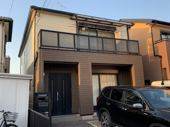 泉南市 N様邸 外壁塗装 屋根塗装 20200222