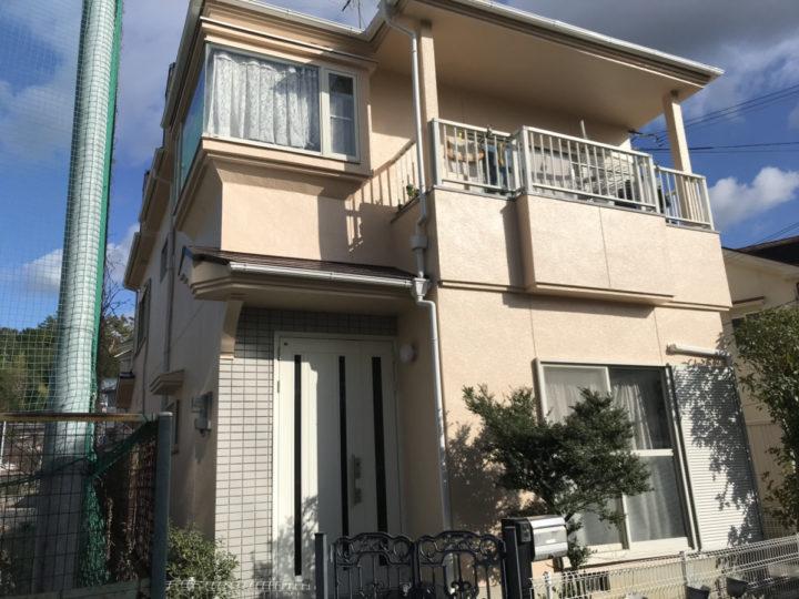泉南市 K様邸 外壁塗装 屋根塗装 20200201