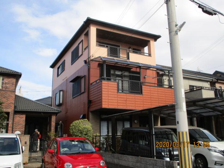 岸和田市 H様邸 外壁塗装 屋根カバー工法 20200306