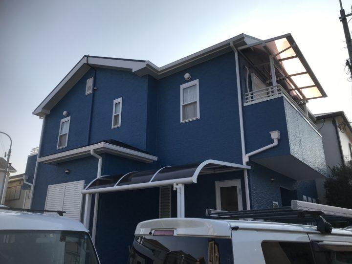泉南市 外壁塗装/屋根塗装工事 完工日:2020/2/2