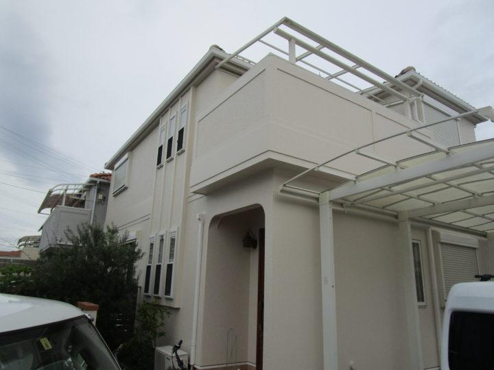 貝塚市 外壁塗装工事 完工日:2019/7/15