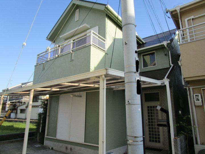 泉南市 Y様邸 外壁塗装 屋根塗装 20191112