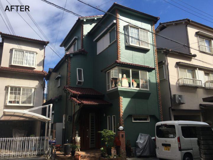 岸和田市 N様邸 外壁塗装 屋根塗装 20200130