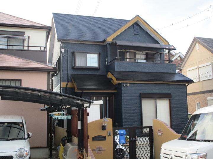 泉南市 外壁塗装/屋根塗装工事 完工日:2019/9/15
