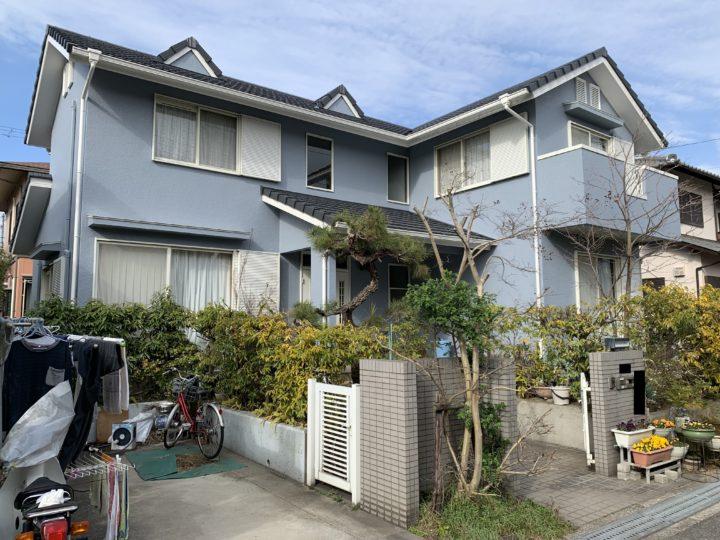 貝塚市 M様邸 外壁塗装 屋根塗装 ベランダ防水 20200303