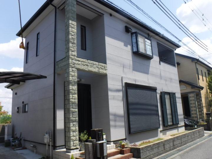 熊取町 A様邸 外壁塗装 屋根塗装 20200426