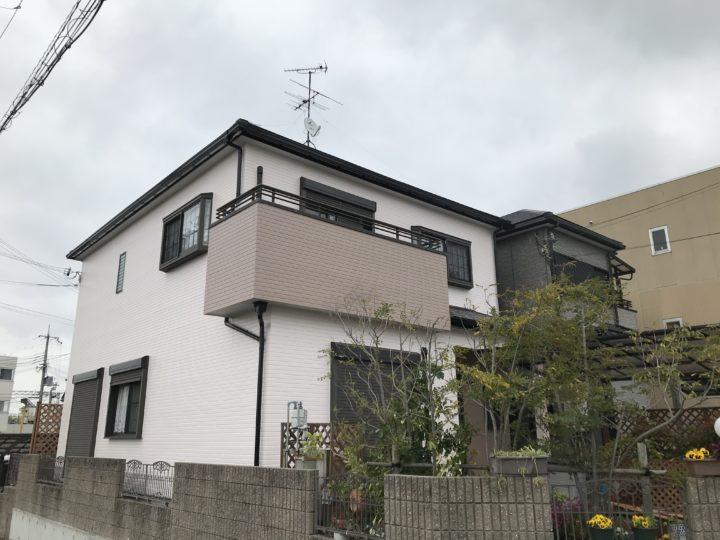 阪南市 K様邸 外壁塗装 屋根塗装 20200330