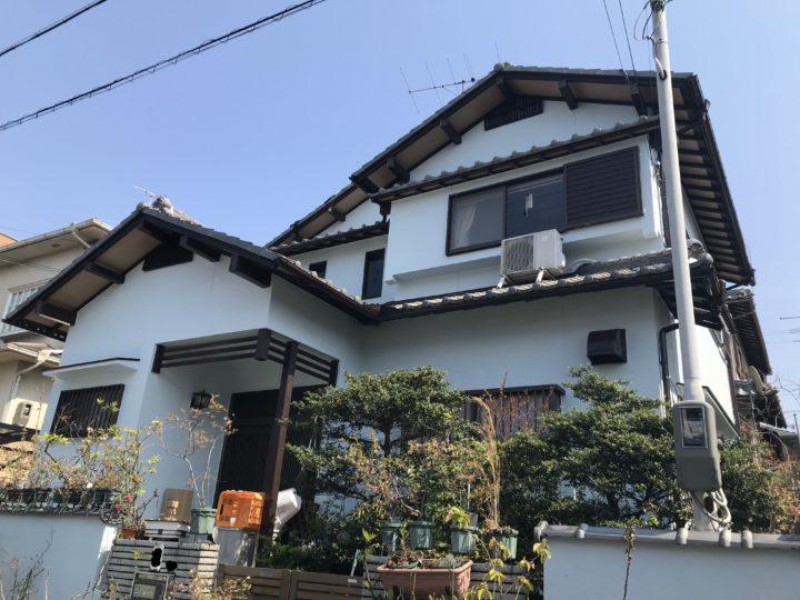 阪南市 F様邸 外壁塗装 20200418