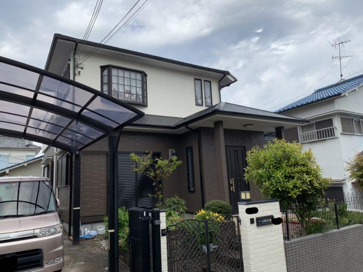 阪南市 K様邸 外壁塗装 屋根塗装 20200418