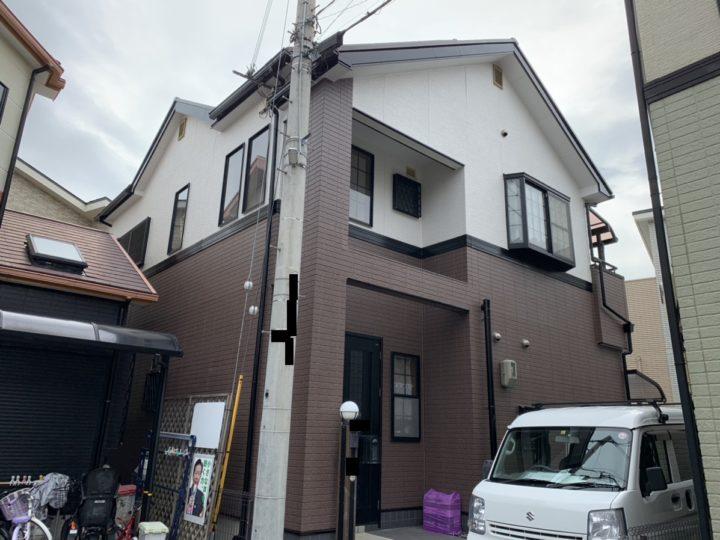 泉南市 Y様邸 外壁塗装 屋根塗装 20191029