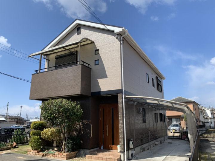 泉佐野市 O様邸 外壁塗装 屋根塗装 20200306