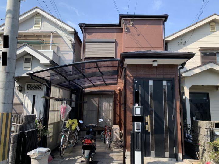 貝塚市 K様邸 外壁塗装 屋根塗装 20200530