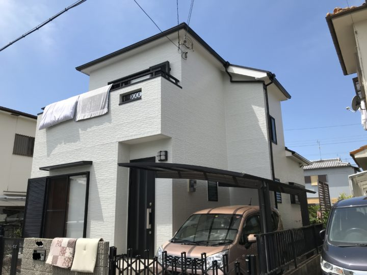 阪南市 O様邸 外壁塗装 屋根塗装 20200508