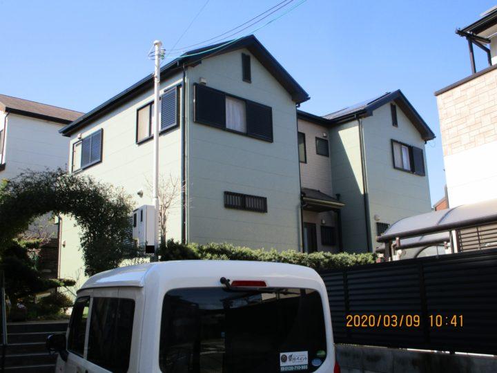泉佐野市 S様邸 外壁塗装 屋根塗装 20200306