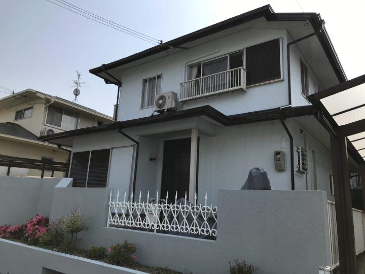 阪南市 M様邸 外壁塗装 屋根塗装 20200604