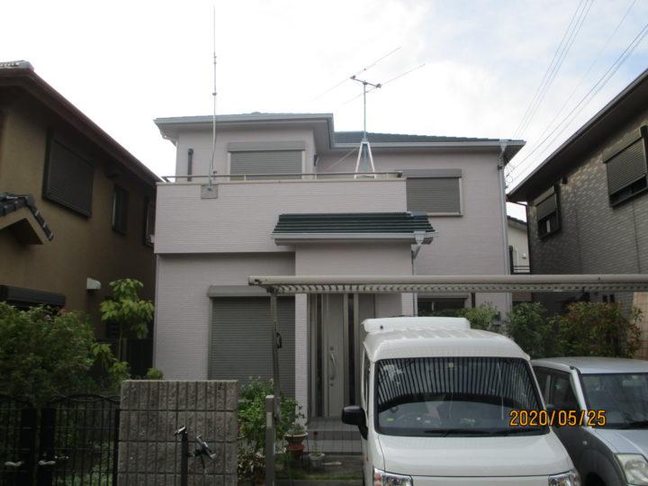 泉佐野市 S様邸 外壁塗装 屋根塗装 20200525