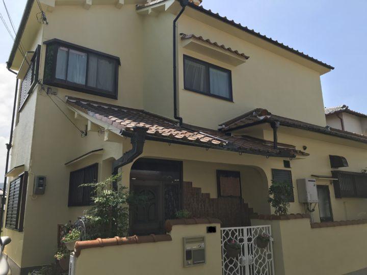泉南市 T様邸 外壁塗装 屋根塗装 20200830