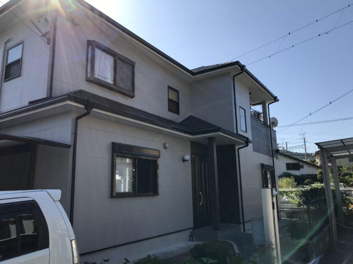 岬町 外壁塗装/屋根塗装工事 完工日:2020/9/30