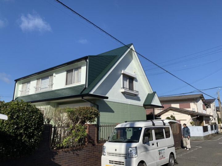 岬町 F様邸 外壁塗装 屋根塗装 20191218