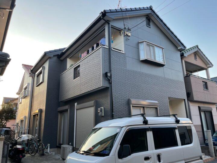 泉佐野市 N様邸 外壁塗装 20201226