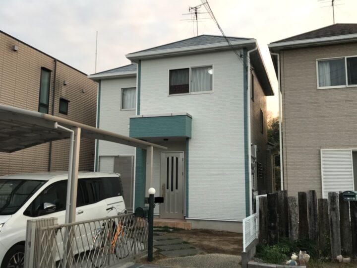 岸和田市 K様邸 外壁塗装 屋根塗装 20201227