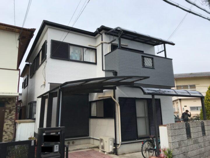 忠岡町 N様邸 外壁塗装 屋根塗装 20201229