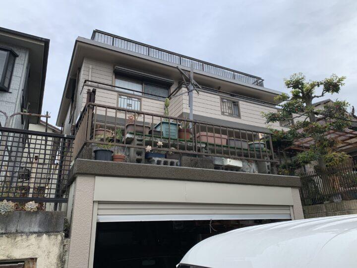 熊取町 K様邸 外壁塗装 20201222