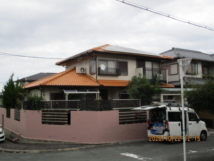 熊取町 Y様邸 屋根塗装 20201022