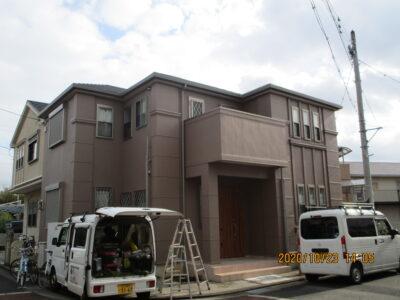 貝塚市 K様邸 外壁塗装 20201023