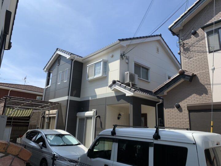 泉佐野市 O様邸 外壁塗装 屋根塗装 20200821