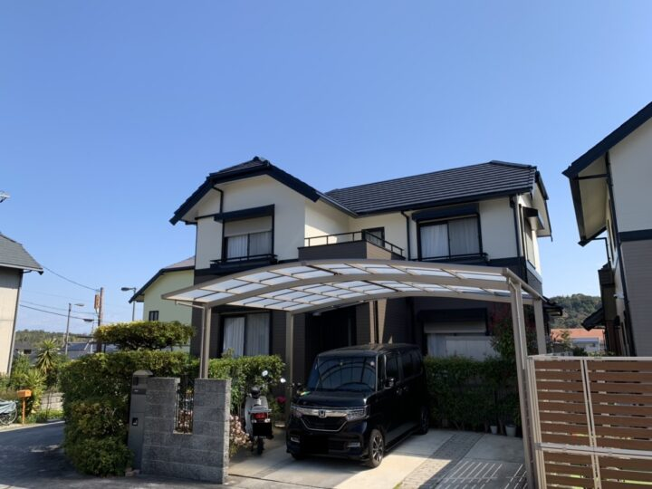阪南市 K様邸 外壁塗装 屋根塗装 20200312