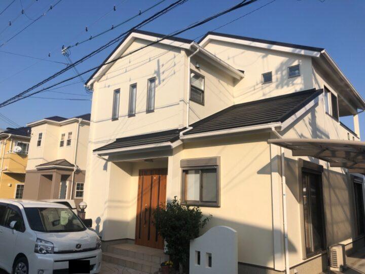 泉佐野市 F様邸 外壁塗装 20210220