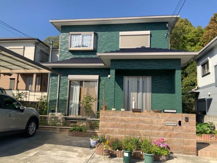 阪南市 T様邸 外壁塗装 屋根塗装 20210110