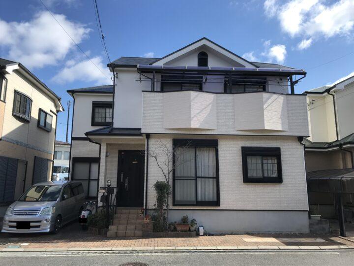熊取町 外壁塗装/屋根塗装工事 完工日:2021/2/8