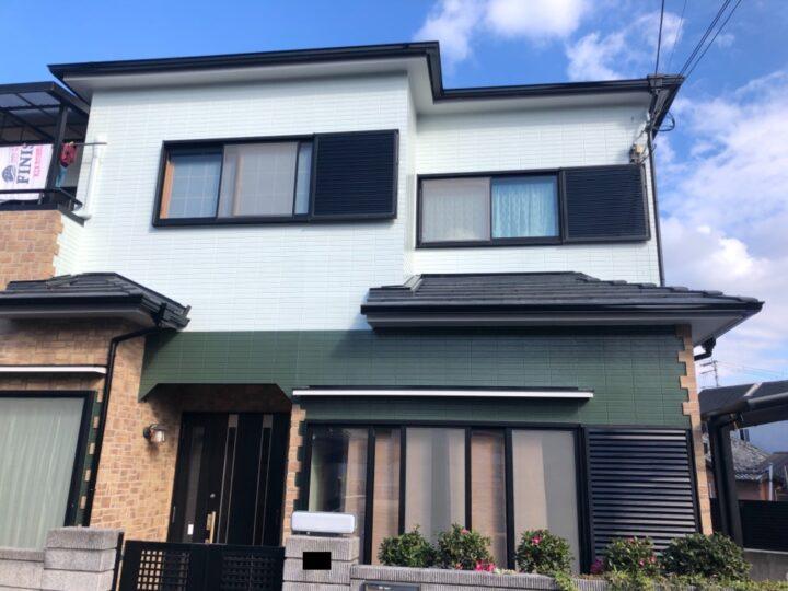 泉佐野市 外壁塗装/屋根塗装工事 完工日:2020/12/21