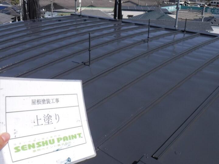 阪南市 屋根塗装工事 完工日:2020/5/27