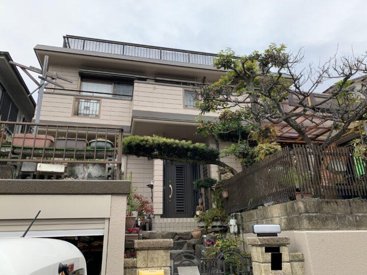 熊取町 外壁塗装工事 完工日:2020/12/22